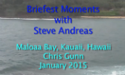 Briefest Moments with Steve Andreas