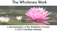 The Wholeness Work: Meditation Demo